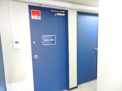 ネクスタ千葉新宿 N号室の入口の写真