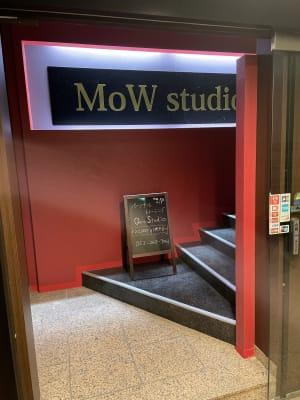 MoW studio パーソナルトレーニングジムの入口の写真