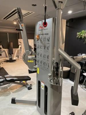 MoW studio パーソナルトレーニングジムの設備の写真