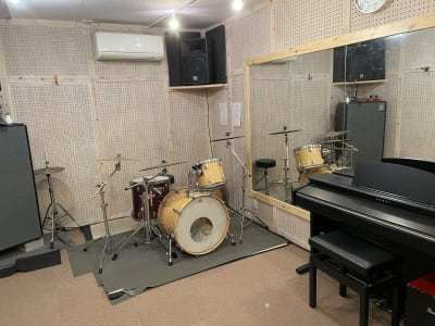 rockin'blues バンド、ダンススタジオの設備の写真