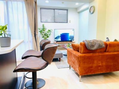 高級感溢れる憩いの場です🍷 - カハラ四条烏丸 パーティースペースの室内の写真