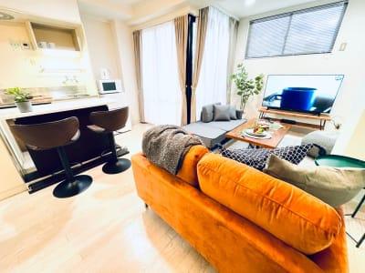 オシャレな快適空間で少人数パーティ🎉 - カハラ四条烏丸 パーティースペースの室内の写真
