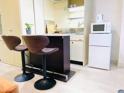 キッチンスペースもございます!  - カハラ四条烏丸 パーティースペースの室内の写真