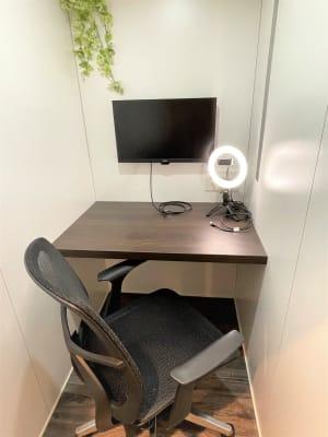 個室ワークスペース1 - cocony武蔵小杉 個室ワークスペース武蔵小杉 1の室内の写真