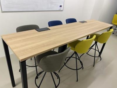 6人掛けテーブル - BUSHIZO上野不忍池スペース 撮影用、会議用スペースの室内の写真