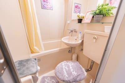 ココリアPastel横浜みらい とっても可愛いプライベート空間の室内の写真