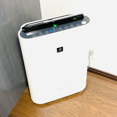 空気清浄機(加湿器)もお使いいただけます。 - 多目的ビジネススペース カベリ天神南店の設備の写真