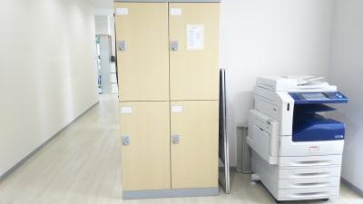 キスミットドア 開南オフィス 応接室 時間貸しの設備の写真