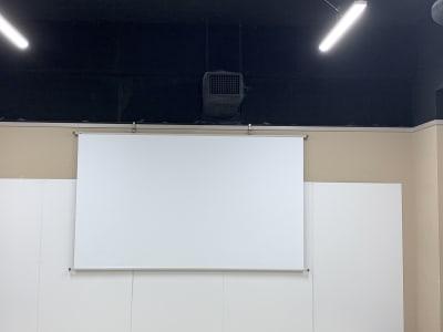 スクリーン - THビル2階B+Eルーム 多目的スペース(会議、ダンス等)の設備の写真