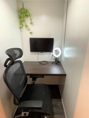 ワークスペース4 - cocony武蔵小杉 個室ワークスペース武蔵小杉 4の室内の写真