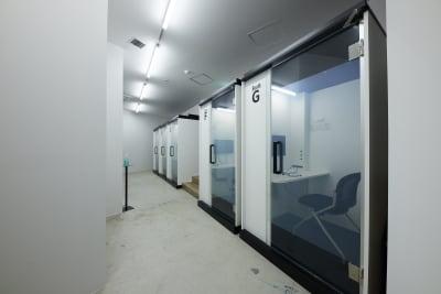 テレワークブース品川Ⅰ 京急第11ビル ブースGの室内の写真