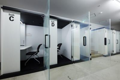 テレワークブース品川Ⅰ 京急第11ビル ブースDの室内の写真