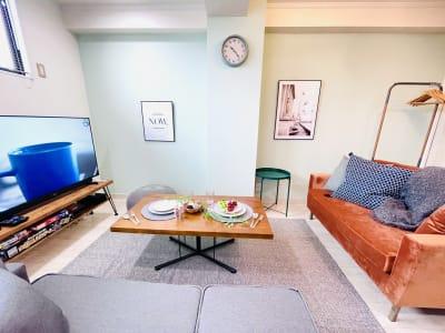 カハラ四条烏丸 パーティースペースの室内の写真
