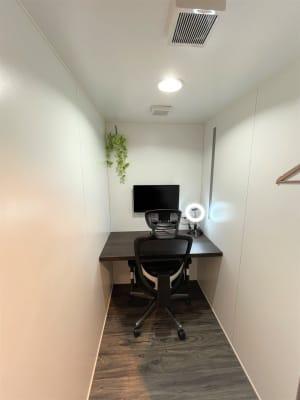 ワークスペース6 - cocony武蔵小杉 個室ワークスペース武蔵小杉 6の室内の写真