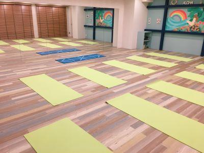 Linoty 【床暖房完備】ヨガなどの運動の設備の写真