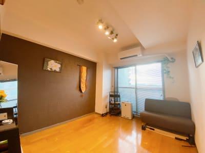 ヨガやパーソナルトレーニングにもご利用可能です。 - レンタルサロンKuraKura柏 ルーム2/Bali🌸の室内の写真