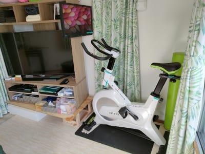 フィットネスバイク - のんびりスタイル高田馬場 のんびりできるお部屋の室内の写真
