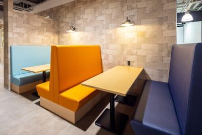 ファミレスブース - いいオフィス南越谷 【天井空きあり】4名会議室のその他の写真