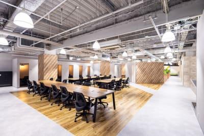 オープンスペース1 - いいオフィス南越谷 【完全個室】8名会議室のその他の写真