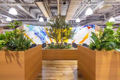オープンスペース2 - いいオフィス南越谷 【完全個室】8名会議室のその他の写真