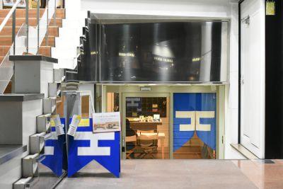【福岡・天神】天神のど真ん中 つながるスペース「HOOD天神」 HOOD 天神の入口の写真