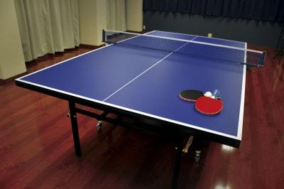 卓球台(国際規格サイズ) - 時々海風が吹くスタジオ 多目的スペースの設備の写真