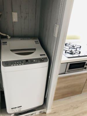 洗濯機 - bluemoon 多目的レンタルスペースの室内の写真
