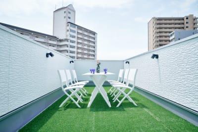 【4F】屋上 - COTERRACE 一軒家貸切の室内の写真