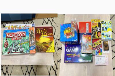 無料で使えるボードゲーム ・カードゲーム!全10種類以上♪ - Coco Space 川崎駅の設備の写真