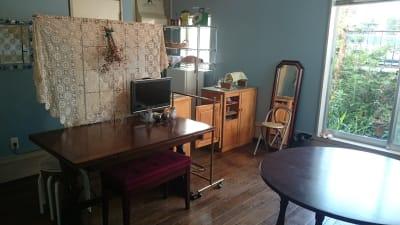 附室(控室、厨房、鏡、トイレ) - レンタル・サロン TAMTAM 多目的スペースの室内の写真