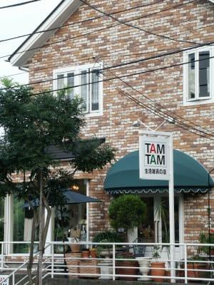 生活雑貨店TAMTAMの奥の部屋がレンタルスペースです - レンタル・サロン TAMTAM 多目的スペースの外観の写真