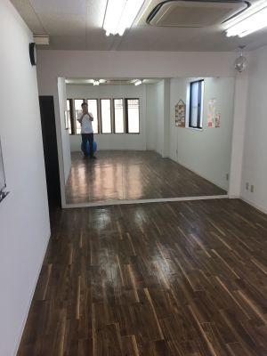 なごみボディルーム 多目的スペースの室内の写真