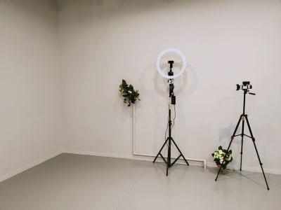 白壁一面撮影最適 - PLJStudioSの室内の写真