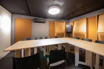 撮影スタジオ - スタジオ馬やど Vスタジオの室内の写真
