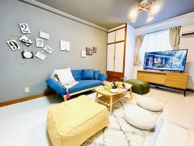 お部屋の全体図。 - shin新大阪 パーティースペースの室内の写真