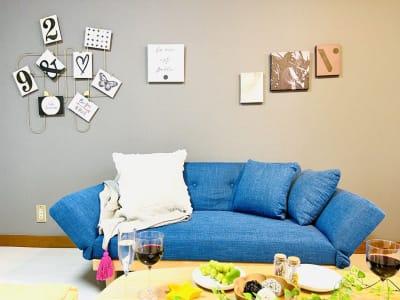 shin新大阪 パーティースペースの室内の写真