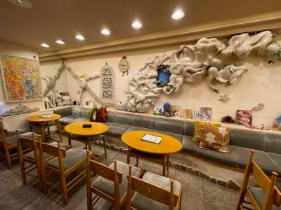 長靴と猫店 朗読会・イベント・料理教室の室内の写真