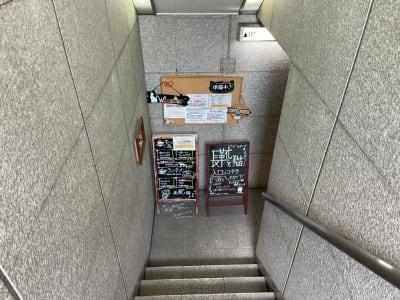 長靴と猫店 朗読会・イベント・料理教室の入口の写真