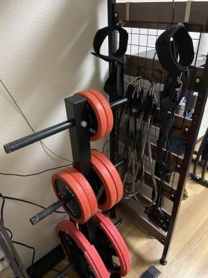 ウエイトプレート、トレーニングチューブ - 整体サロンRe・Set レンタルスペースの設備の写真