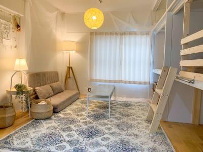 Green roomの室内の写真