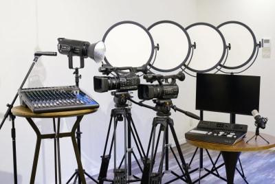 ブロキャストーキョー 配信専用撮影スタジオの設備の写真