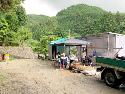 BBQやキャンプのほか、サークル活動など用途は様々!まずはご相談ください☆ - 市ノ瀬ベース 那珂川に新スポット作りました♪の室内の写真