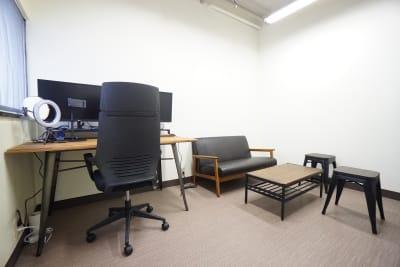 【門前仲町ミニマルオフィス】 門前仲町ミニマルオフィスの室内の写真