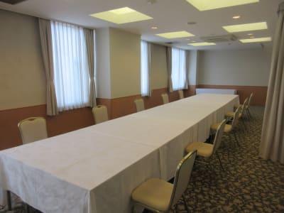 「201号室」「205号室」を一括使用できます - 広島ダイヤモンドホテル 貸会議室「201・205号室」の室内の写真