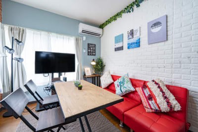 ザルツ立川 くつろぎレンタル会議室の室内の写真