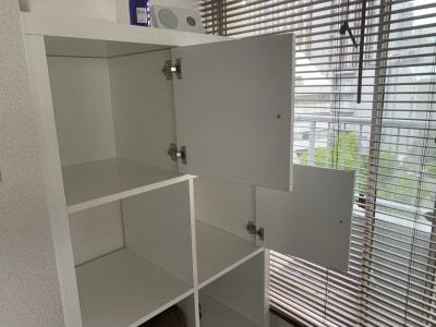 お客様や施術者のロッカーとして活用できます。 - レンタルサロン「My room」 レンタルサロン My roomの設備の写真