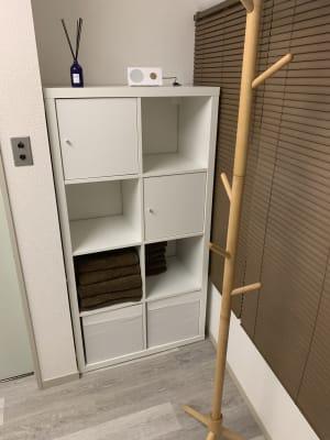 タオルのレンタルもございます。 - レンタルサロン「My room」 レンタルサロン My roomの設備の写真