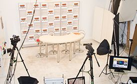 新宿レンタル撮影スタジオ P&M 個室スタジオの室内の写真