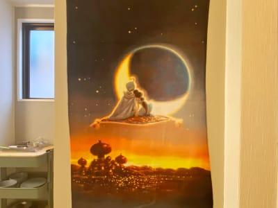 アラジンを連想させますね - 《Genie-ジーニー-》 パーティースペースの設備の写真