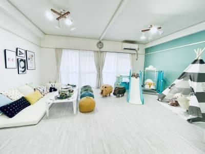 広々とした空間。 - KICHIレンタルキッズスペース 子供が主役!のレンタルスペースの室内の写真